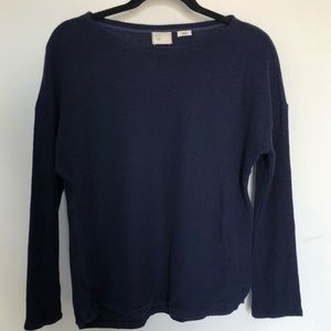 Anthropologie 9 h15 stcl blue sweater size S